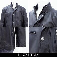 LAZYHILLS(レイジーヒル)レザーハーフコート