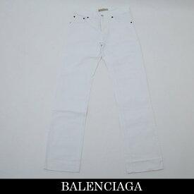 Balenciaga(バレンシアガ)デニムパンツホワイト182976