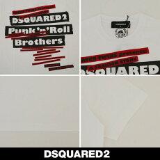 Dsquared(ディースクエアード)ロゴプリント半袖Tシャツ