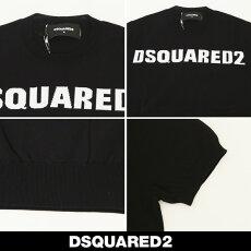 Dsquared(ディースクエアード)ロゴ半袖サマーセーター