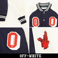 OFF-WHITE(オフホワイト)スタジアムジャンバー