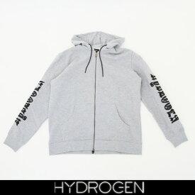 HYDROGEN(ハイドロゲン)ジップアップパーカー (グレー)220620