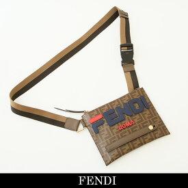 FENDI(フェンディ)FENDI×FILAコラボショルダーバッグブラウン系7VA437 A5N7 F15HG