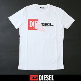 DIESEL(ディーゼル)半袖TシャツホワイトS02X 091B