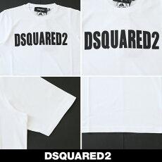Dsqared(ディースクエアード)レディースロゴ半袖Tシャツ