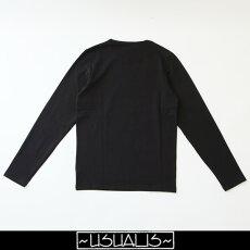 USUALIS(ウザリス)ロングTシャツ