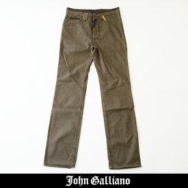 John Galliano(ジョン・ガリアーノ)コットンパンツカーキAUR212U AR113B