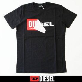 DIESEL(ディーゼル)半袖TシャツブラックS02X 091B