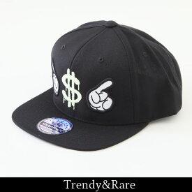 Trendy&Rare(トレンディ&レア)蓄光 キャップブラックEST2011