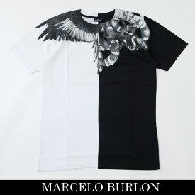 Marcelo Burlon(マルセロ・バーロン)半袖TシャツブラックCMAA018R190010201091
