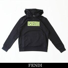 FENDI(フェンディ)プルオーバーパーカーブラックFAF551 A8JY F17W0