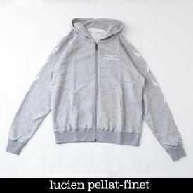 Lucien Pellat-finet(ルシアンペラフィネ)ジップアップパーカーグレーYMP729U(213 83712)