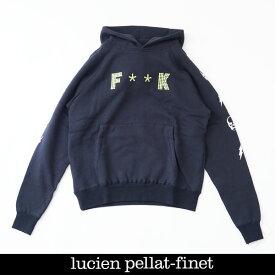 Lucien Pellat-finet(ルシアンペラフィネ)パーカーブラックYMP728U(213 83409)