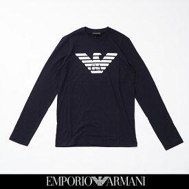 EMPORIO ARMANI(エンポリオ アルマーニ)長袖 TシャツロングTシャツブラック8N1T64 1JNQZ 0999
