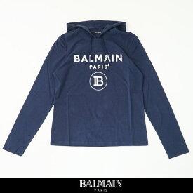 balmain(バルマン)【メンズウェア】パーカー【ネイビー】SH01006 I196 6UB