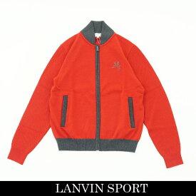 LANVIN SPORT(ランバン スポール)フルジップアップセーターレッド系VMM4064C5 RD03