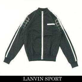 LANVIN SPORT(ランバン スポール)フルジップアップセーターブラック系VMM4051A6 BK03