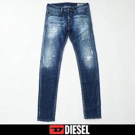DIESEL(ディーゼル)ストレッチ素材ジーンズ,デニムインディゴ00SWJF 0091Y(SLEENKER)