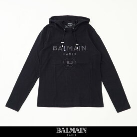 balmain(バルマン)【メンズウェア】パーカー【ブラック】SH01006 I194