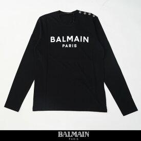 balmain(バルマン)【メンズウェア】ロングTシャツブラックUH11270 1398