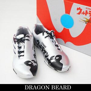 DRAGON BEARD(ドラゴンベアード)スニーカーシルバー×ブラックDB 3903 UL