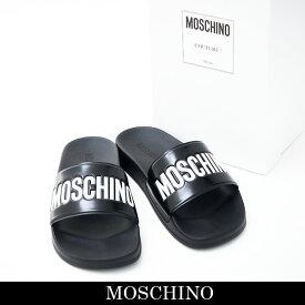 MOSCHINO(モスキーノ)サンダルブラックQB0220800