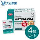 【公式】[4個セット] 大正製薬 大正DHA・EPA サプリメント サプリ 必須脂肪酸 オメガ3脂肪酸 1箱 5粒×30袋 約30日分 …