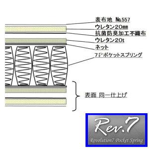 Rev.7ブルーラベルベーシックシングル【東京ベッド】【マットレス】