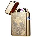 電子ライター プラズマライター 電子ターボライター クロスアーツ点火 おすすめ 通販 USB充電式 タバコ キャンプ 花火 十字架 金 ゴールド