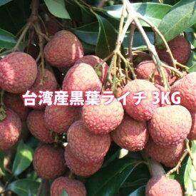 黒葉ライチ3kg 台湾産 期間限定・数量限定・送料無料