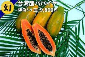パパイヤ 台湾産6KG 数量限定 送料無料