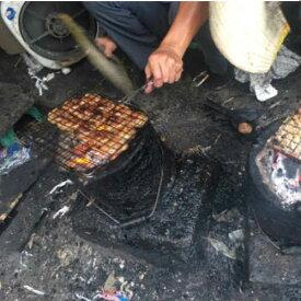 焼肉用 網 ハサミ式 現地屋台使用 ベトナム雑貨 アジアン雑貨 お土産