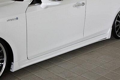 【エムズスピード M'z SPEED】クラウンアスリート 等にお勧め Prussian Blue サイドスポイラー 塗装済み プルシャンブルー 型式等:GRS214 GRS210 AWS210