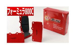 【アクレ/acre】 ALFA ROMEO 156 等にお勧め フォーミュラ800C [フロント用] 左右セット ブレーキパッド 型式等:3.2 GTA V6 SELESPEED (6AT) 品番:β112*1