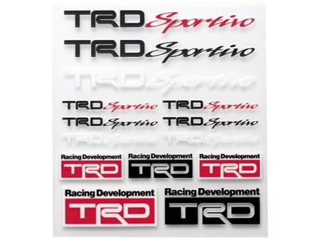 【TRD】 TRD Sportivo ミニステッカーセット 品番:08231-SP104