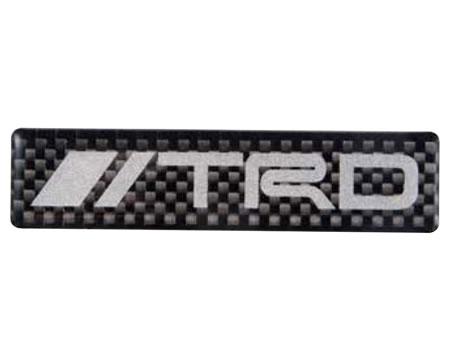 【TRD】 カーボンステッカー(ロゴタイプ) 品番:08231-SP178