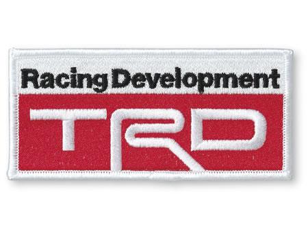 【TRD】 ワッペンBタイプ 品番:08232-SP003