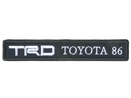 【TRD】 TRD×86ワッペン 品番:08232-SP026