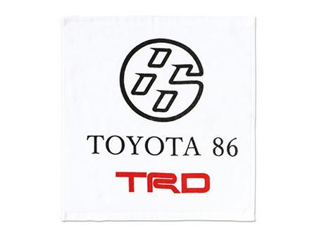【TRD】 TRD×86ハンドタオル 品番:08299-SP015