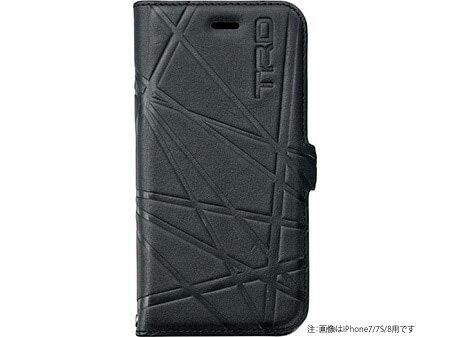 【TRD】 スマートフォンケース(iPhoneX 対応) 品番:08773-SP080