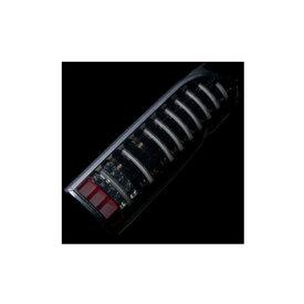 【ヴァレンティ】ハイエース 200系 などにお勧め JEWEL LED テールランプ ライトスモーク/ブラッククローム 品番:TT200ACE-SB-1 Valenti ジュエル LED TAIL LAMP