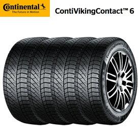コンチネンタル コンチバイキングコンタクト6 CVC6 225/55R17 97T スタッドレスタイヤ 4本セット