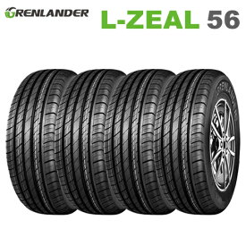 サマータイヤ 4本セット 225/55R19 99V 19インチ グレンランダー L-ZEAL 56 【2020年製】