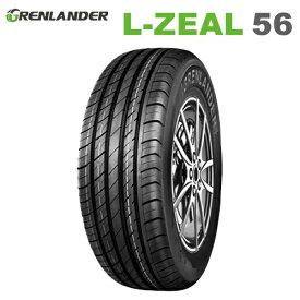 サマータイヤ 225/55R19 99V 19インチ グレンランダー L-ZEAL 56 【2020年製】