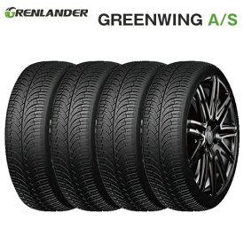 オールシーズンタイヤ 4本セット 185/60R15 84H 15インチ グレンランダー GREENWING A/S【2019-2020年製】