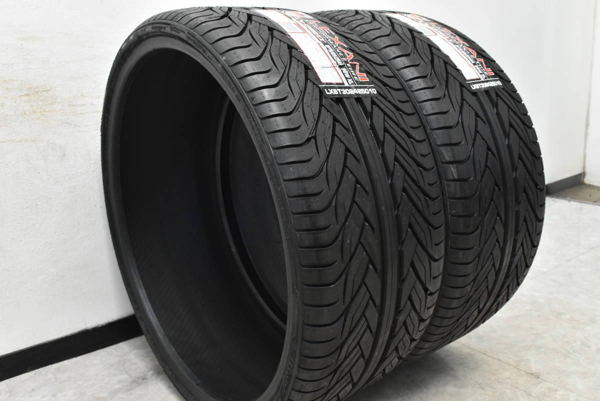 【中古】タイヤ2本セット 24インチ 275/25ZR24 LEXANI【サマータイヤのみ】【F1908-398S】