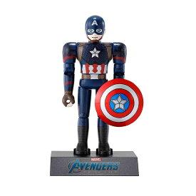 超合金HEROES アベンジャーズ キャプテン・アメリカ 約100mm ダイキャスト&ABS製 塗装済み可動フィギュア