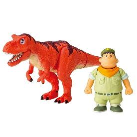 アニア「 映画 ドラえもん のび太の新恐竜 」ジャイアン & ゴル ( タルボサウルス )