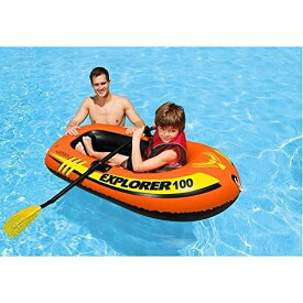 【INTEX】エクスプローラー100ボートセット 58329 子供用ビニールプール/ウキワ/水遊び/インテックス