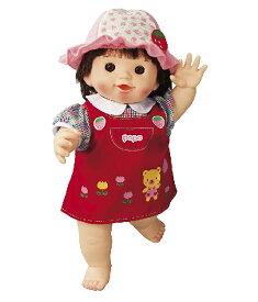 ぽぽちゃん お人形 やわらかお肌の女の子だもんぽぽちゃん くまさんジャンパースカート